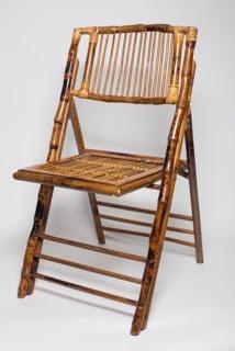 Folding Bamboo Chairs